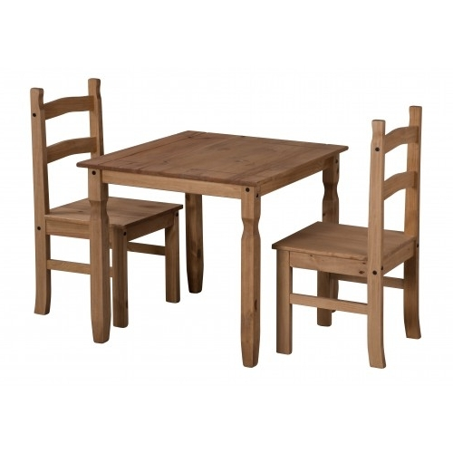 Most Popular Corona Rio Dining Table & 2 Chairs Throughout Rio Dining Tables (View 7 of 20)