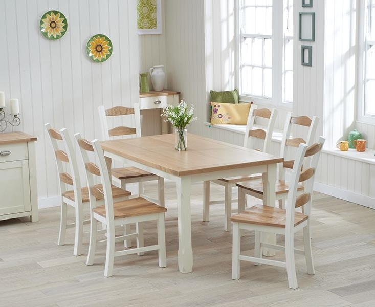 Featured Photo of Cream Dining Tables And Chairs