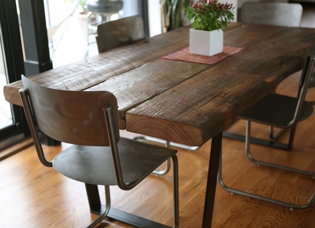 Most Popular Dark Solid Wood Dining Tables Throughout Furniture: Solid Wood Table Best Of Black Wood Dining Table (View 16 of 20)