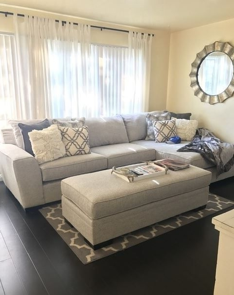 Most Popular Delano 2 Piece Sectionals With Laf Oversized Chaise Throughout Delano 2 Piece Sectional W/laf Oversized Chaise In (View 3 of 15)