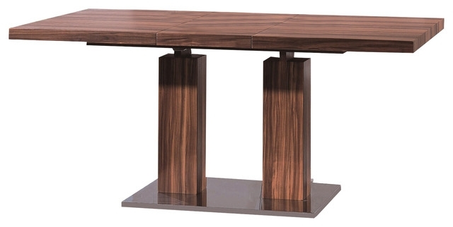 Most Popular Delfina Dining Tables Intended For Delfina Veneer Dining Table – Modern – Dining Sets  Casaat (View 10 of 20)