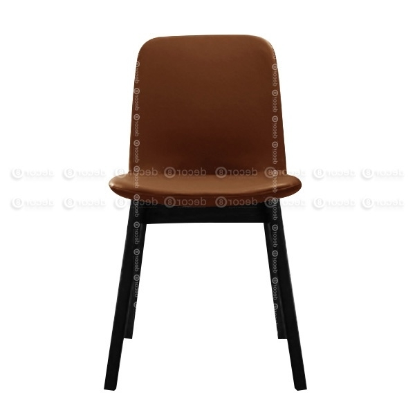 Most Popular Dining Chairs Hk – Solid Wood Upholstered Chair – Beal Upholstered Inside Dark Brown Leather Dining Chairs (View 14 of 20)