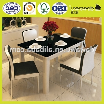Most Popular Dining Room Set Modern 4 Seater Extendable Dining Table – Buy With 4 Seater Extendable Dining Tables (View 12 of 20)