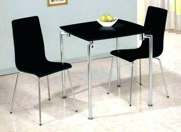Most Popular Dining Set For Two 2 Dining Table Set 2 Kitchen Table Org Intended Throughout Two Seat Dining Tables (View 13 of 20)