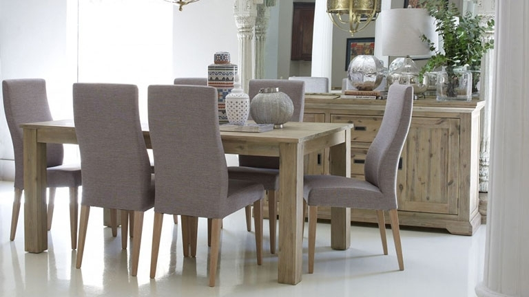 Most Popular Dining Tables Chairs Inside Dining Tables & Chairs Sets – Round & Extendable (View 9 of 20)