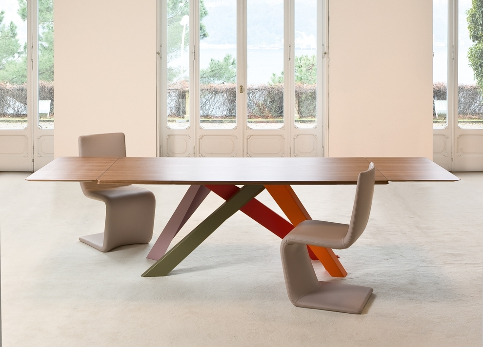Most Popular Dining Tables London With Bonaldo Big Extending Table (View 16 of 20)
