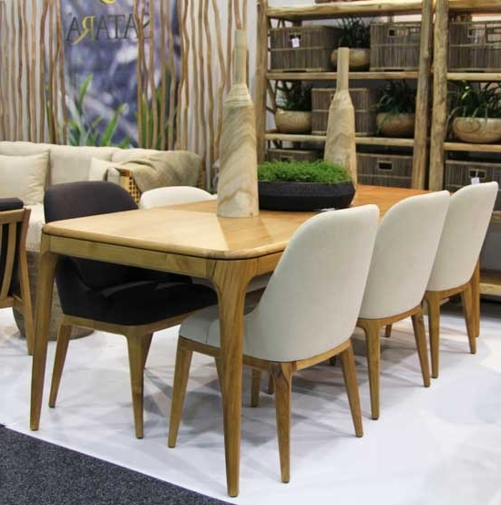 Most Popular Dining Tables New York Regarding New York Dining Table Indoor Furniture Teak Satara Australia (View 7 of 20)