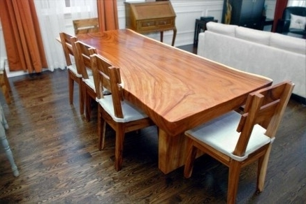 Most Popular Excellent Decoration Solid Wood Dining Table 25 Best Dining Tables With Regard To Solid Wood Dining Tables (View 4 of 20)