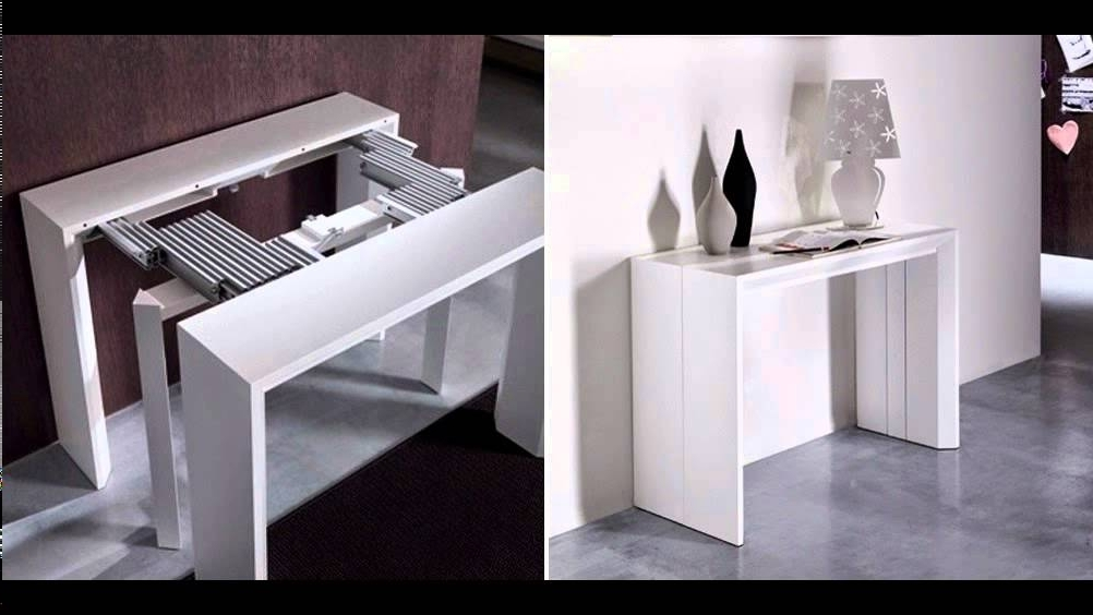 Most Popular Foldaway Dining Tables Regarding Folding Dining Table And Chairs – Youtube (View 12 of 20)