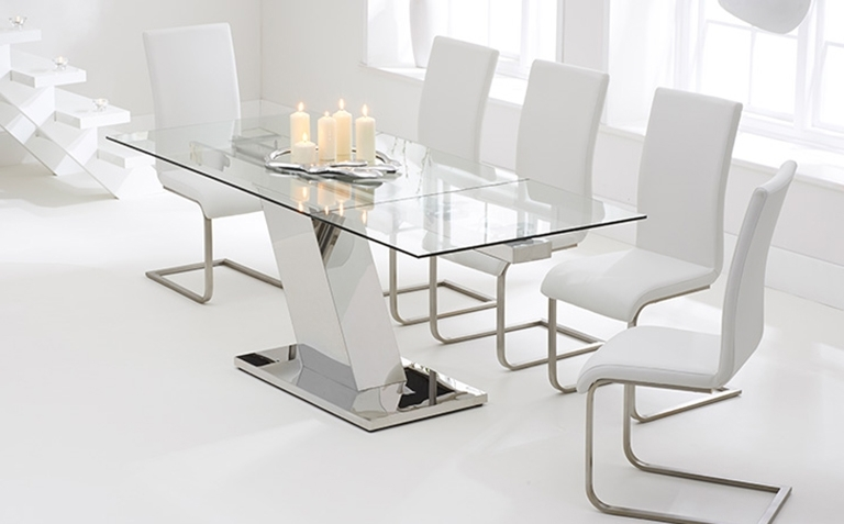 Most Popular Glass Dining Table Sets (View 12 of 20)