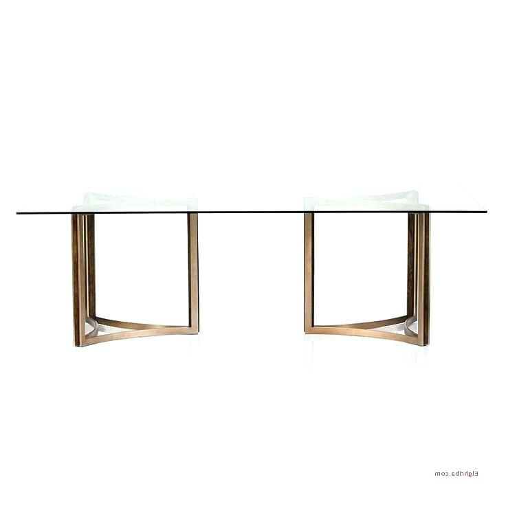 Most Popular Glass Dining Tables With Oak Legs With Regard To Oak Dining Table With Glass Top – Buxenz (View 15 of 20)