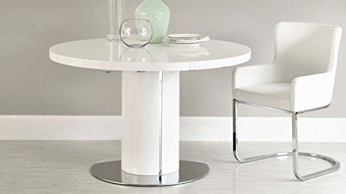 Most Popular High Gloss Round Dining Tables Inside Pingabriela Burciaga On Home (View 15 of 20)