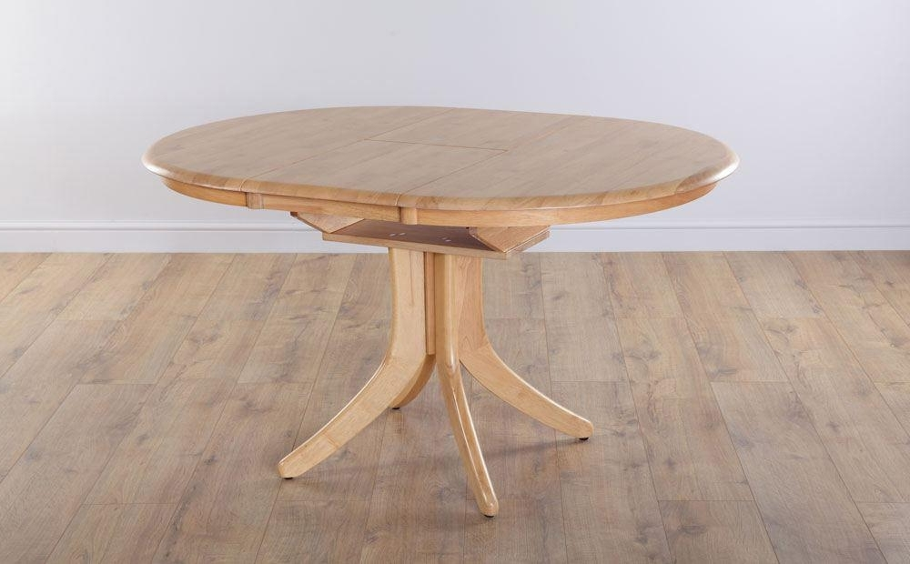 Most Popular Hudson Round Extending Oak Dining Room Table Furniture (View 10 of 20)