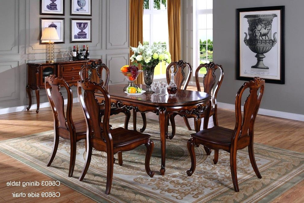 Most Popular Indian Dining Table Traditional Dining Table Dining Tables Wooden For Indian Dining Tables (View 17 of 20)