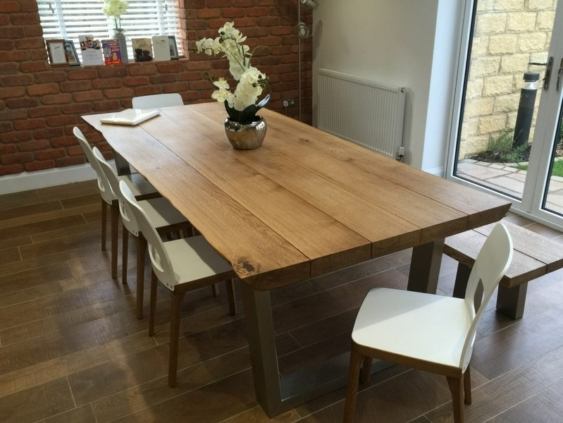 Most Popular Industrial Style Dining Table From Tarzan Tables – The Komodo  (View 14 of 20)