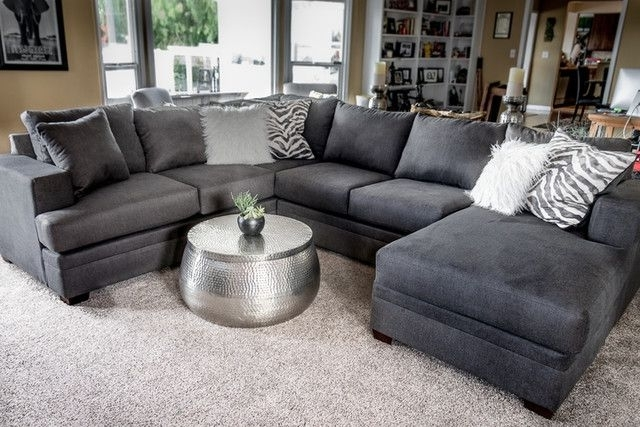 Most Popular Kerri 2 Piece Sectional W/laf Chaise (View 7 of 15)