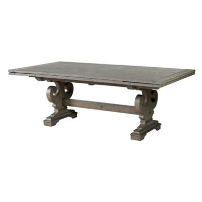 Most Popular Kincaid Furniture Dining Tables Crawford 608 744P Refractory Dining Pertaining To Crawford Rectangle Dining Tables (View 8 of 20)