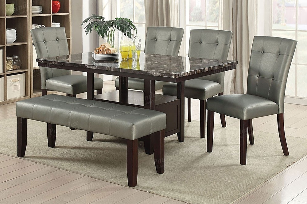 Most Popular Marble Dining Tables Sets With Cheap Marble Dining Table Sets – Castrophotos (View 17 of 20)