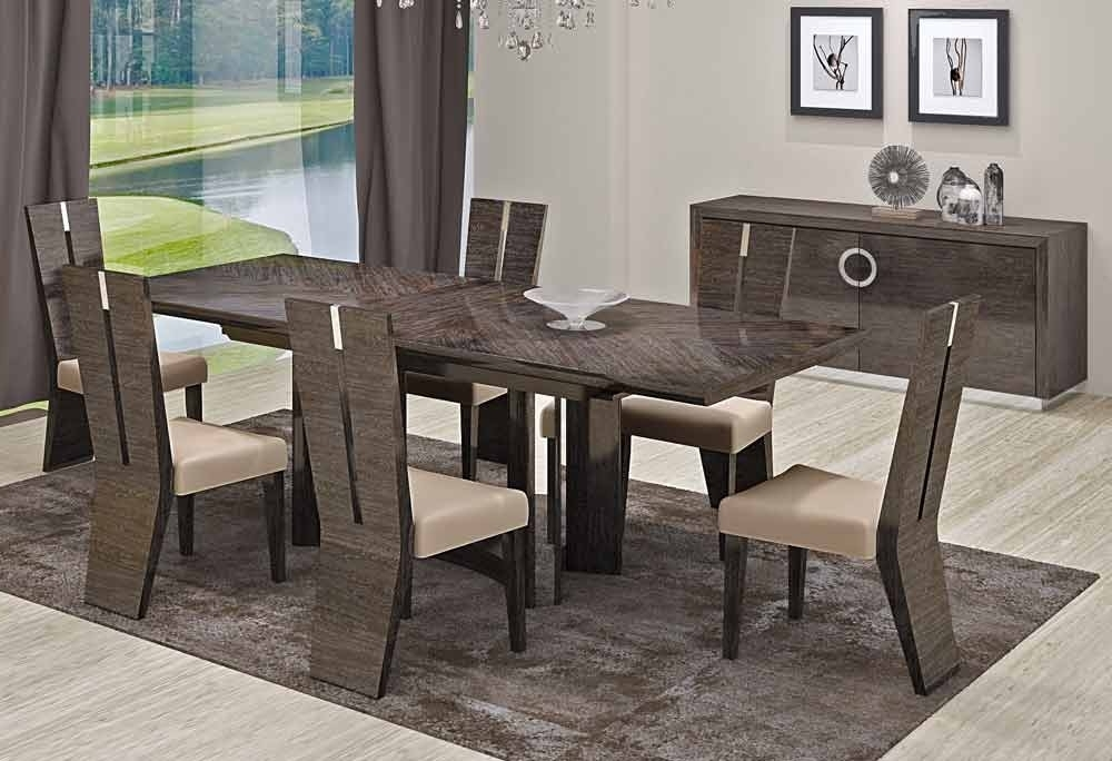 Most Popular Modern Dining Sets In Good Modern Dining Table Sets — Jherievans (View 16 of 20)