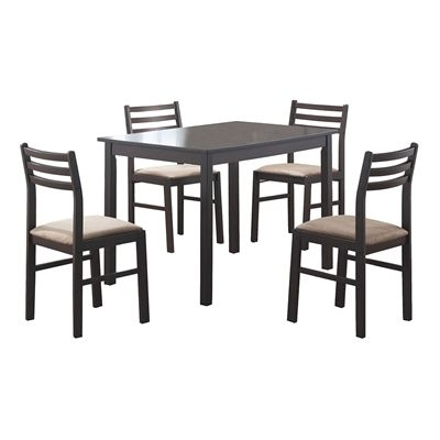 Most Popular Monarch Specialties Dining Set I 1111 5 Piece In  (View 13 of 20)