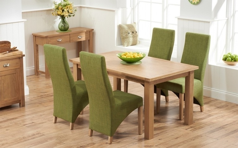 Most Popular Oak Dining Suite Intended For Oak Dining Table Sets (View 5 of 20)