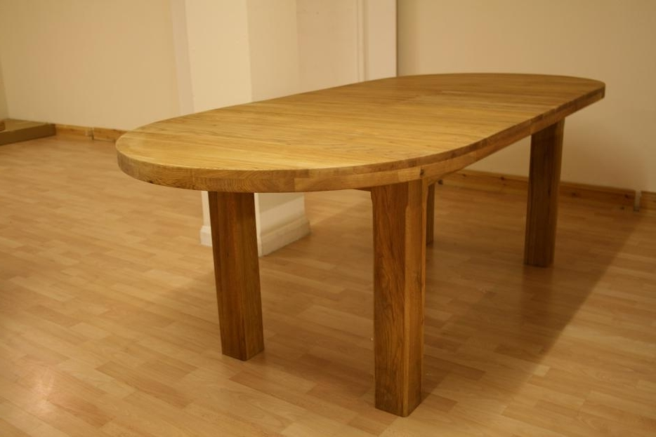 Most Popular Oslo Solid Oak Dining Furniture (View 12 of 20)