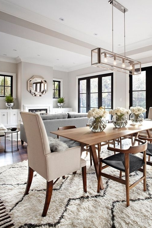 Most Popular Over Dining Tables Lighting Throughout Long Office Tables Long Pendant Lighting Long Track Lighting Long (View 6 of 20)