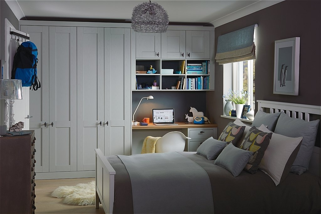 Most Popular Partridge 6 Piece Dining Sets Pertaining To Kindred – Origin Fitted Bedroom Furniture Range In Partridge Grey (View 8 of 20)