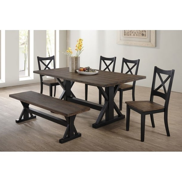 Most Popular Patterson 6 Piece Dining Sets With Regard To Dinning Room (View 7 of 20)