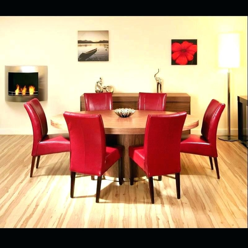 Most Popular Red Dining Table Set – Kuchniauani Inside Red Dining Tables And Chairs (View 7 of 20)