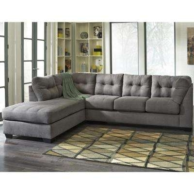 Most Popular Sectionals – Living Room Furniture – The Home Depot Throughout Gordon 3 Piece Sectionals With Raf Chaise (View 6 of 15)
