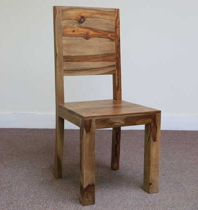 Most Popular Sheesham Dining Chairs In Sheesham Dining Chair (View 7 of 20)