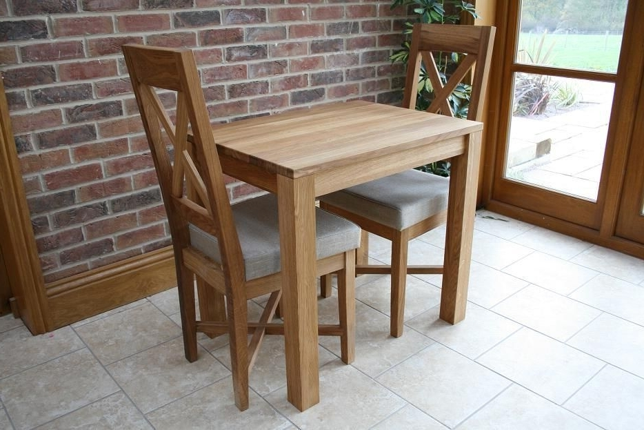 Most Popular Small Oak Dining Tables Within Large Advantages Of A Small Dining Table Top Modern Interior (View 10 of 20)