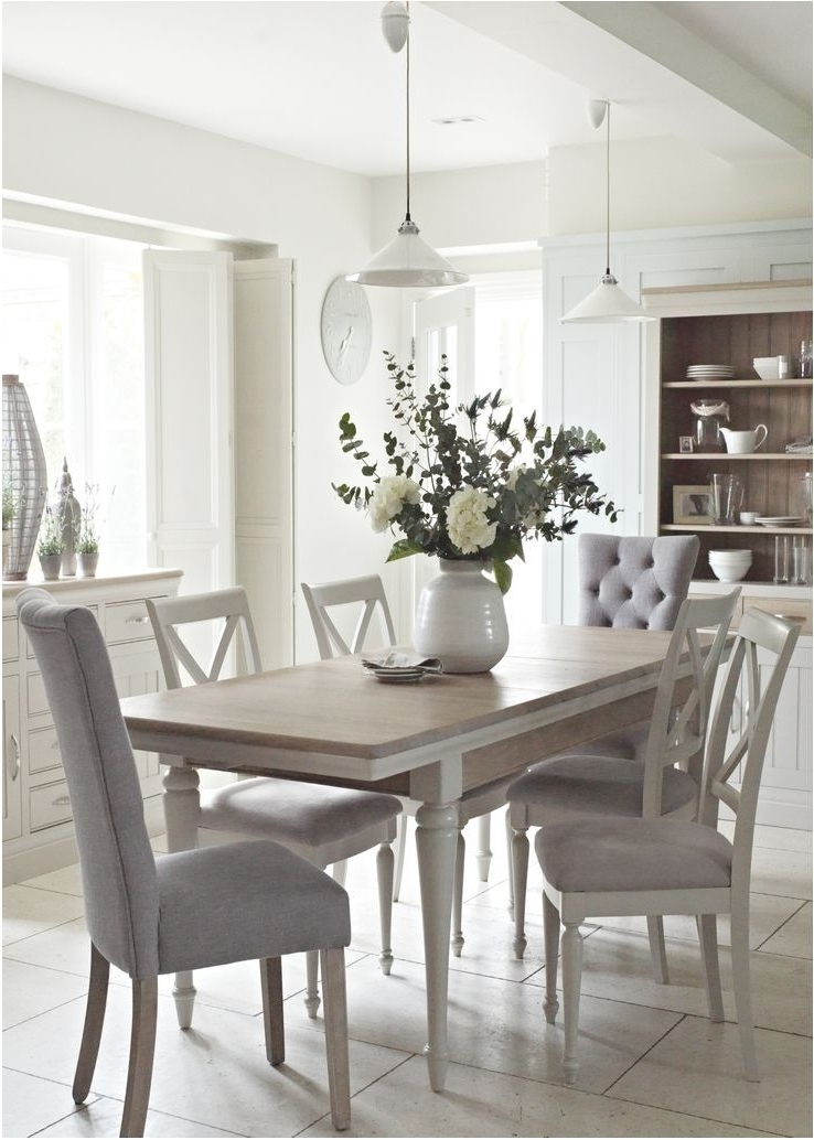 Most Popular White Dining Tables And Chairs For Delightful Nice White Dining Room Table And Chairs 3 Incredible Chic (View 10 of 20)