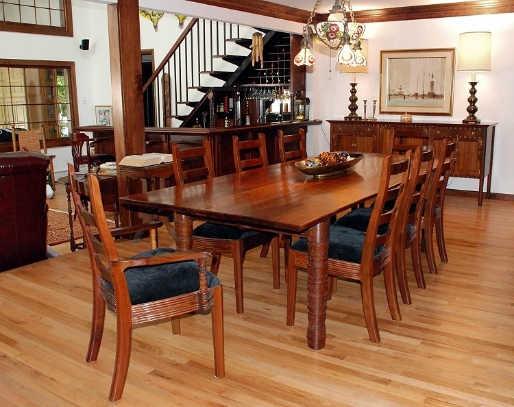 Most Popular William Robbins Furniture Maker Throughout Walnut Dining Tables And Chairs (View 8 of 20)
