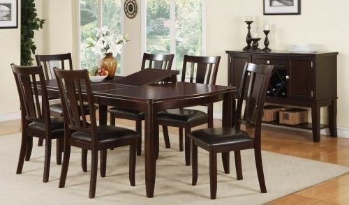 Most Popular Wood Dining Table And 6 Chairs (View 8 of 20)