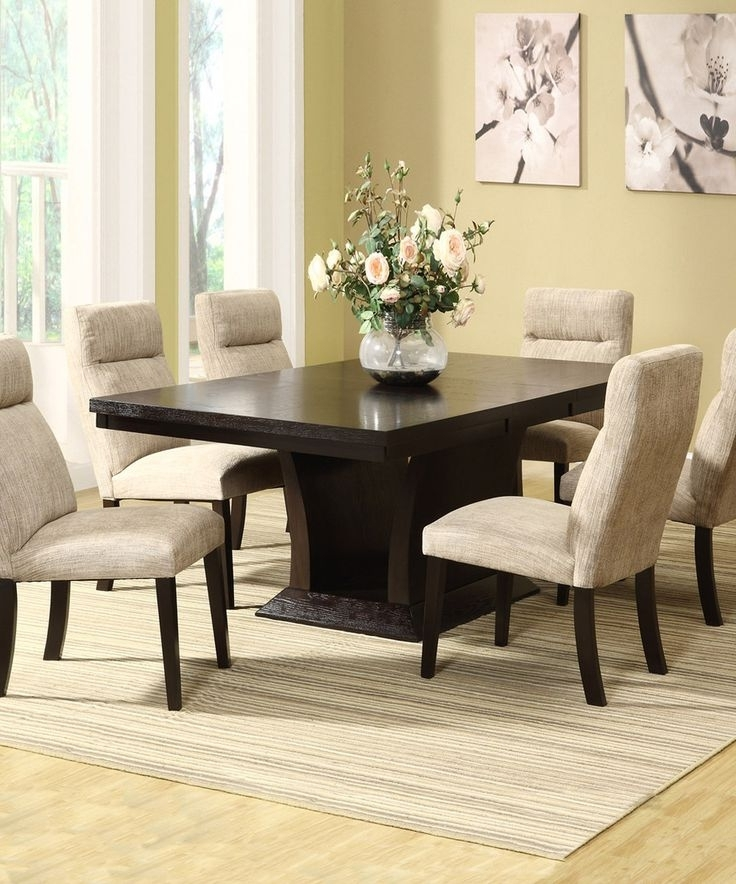 Most Recent 10 Best Chair Images On Pinterest Pertaining To Bale 7 Piece Dining Sets With Dom Side Chairs (View 13 of 20)
