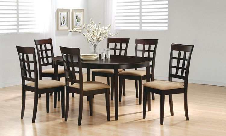 Most Recent 6 Chairs Dining Tables Intended For 6 Chair Dining Table – Theradmommy (View 17 of 20)