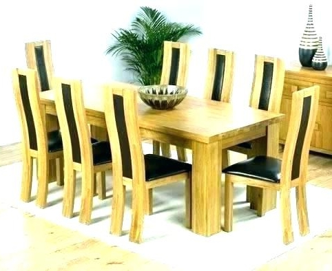 Most Recent 8 Seater Round Dining Table And Chairs Intended For 8 Dining Table And Chairs – Kuchniauani (View 14 of 20)
