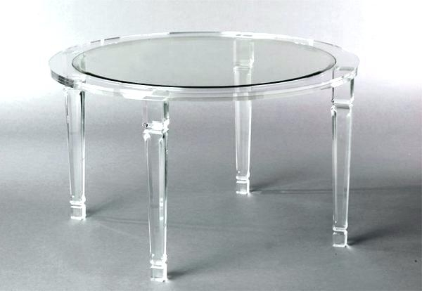 Most Recent Acrylic Dining Tables Inside Decoration: Acrylic Dining Table And Chairs (View 13 of 20)