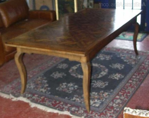 Most Recent Antiques Atlas – French Oak Parquet Top Dining Table With Regard To Parquet Dining Tables (View 11 of 20)