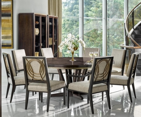 Most Recent Cheery Caira Piece Extension Set Back Chairs Caira Piece Extension With Chapleau Ii 9 Piece Extension Dining Table Sets (View 19 of 20)