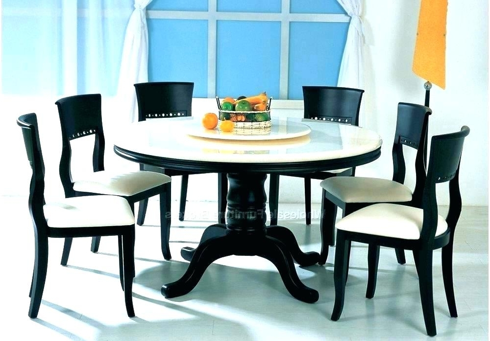 Most Recent Circular Dining Table For 6 Modern Round Dining Table Round Dining With Regard To 6 Seater Round Dining Tables (View 12 of 20)