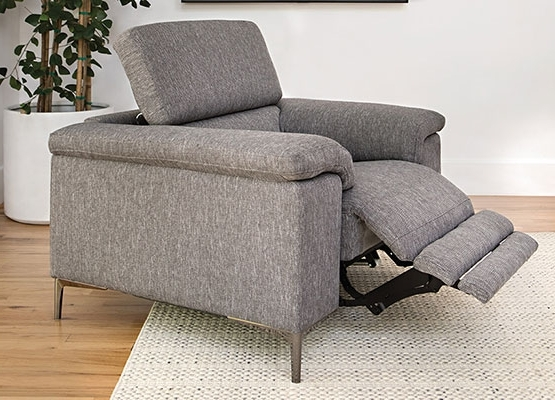 Most Recent Clyde Grey Leather 3 Piece Power Reclining Sectionals With Pwr Hdrst & Usb In What Is A Power Recliner? (View 9 of 15)