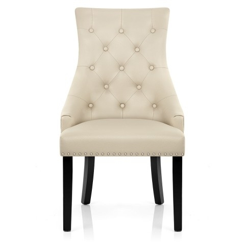 Most Recent Cream Leather Dining Chairs Throughout Ascot Dining Chair Cream Leather – Atlantic Shopping (View 9 of 20)
