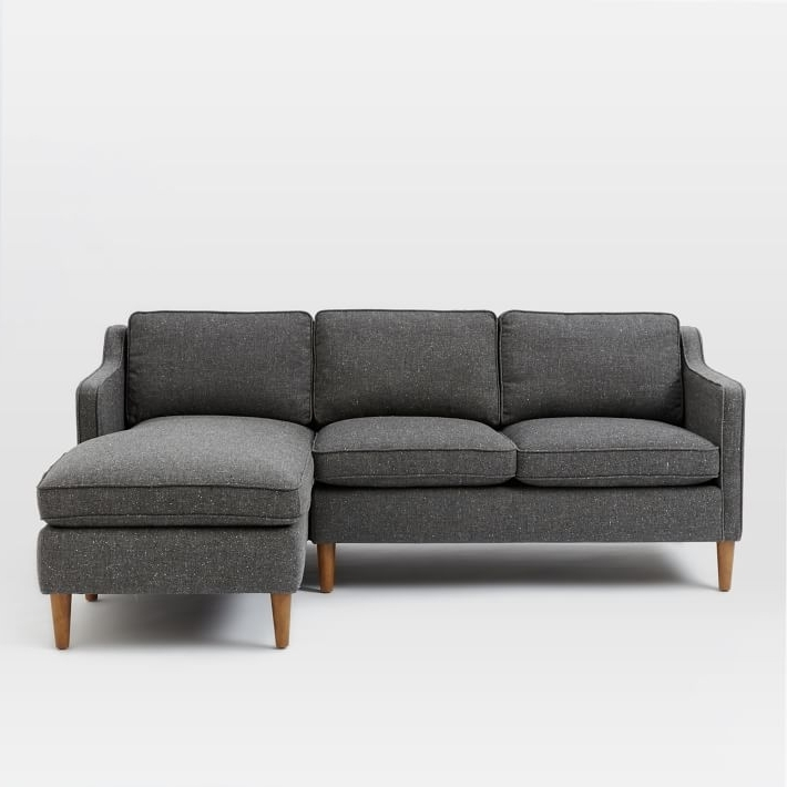 Most Recent Cresson Pewter 4 Pc Laf Chaise Sectional 54907/16/34/77/56 Within Arrowmask 2 Piece Sectionals With Laf Chaise (View 9 of 15)