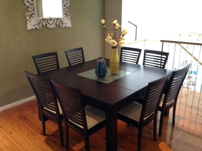 Most Recent Dining Tables And 8 Chairs Sets Throughout 8 Chair Dining Room Set – Www (View 18 of 20)