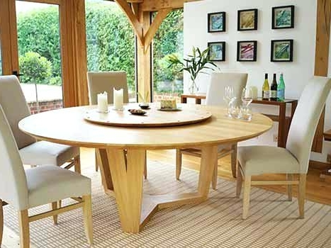 Most Recent How To Use A Circular Dining Table – Home Decor Ideas Within Circle Dining Tables (View 8 of 20)