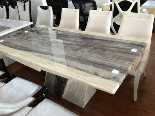 Most Recent Imported Italian Marble Dining Tables, मार्बल डाइनिंग Within Dining Tables (View 15 of 20)