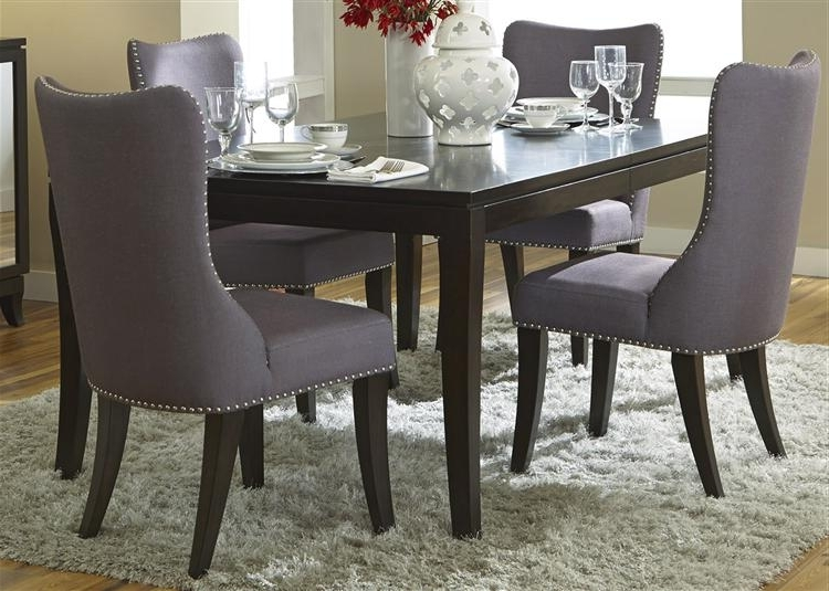 Most Recent Jaxon 5 Piece Round Dining Sets With Upholstered Chairs Inside Sal's Furniture Store Offers Casual Dining Room Sets For Sale In (View 16 of 20)